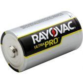 Rayovac Ultra Pro D Alkaline Battery - 1 Piece Bulk