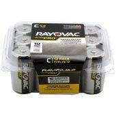 Rayovac Ultra Pro C Alkaline Batteries - 12 Piece Box