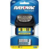 Rayovac Value Bright 3AAA 5 LED Headlight