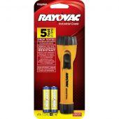 Rayovac Industrial 2AA Krypton Yellow Flashlight