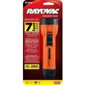 Rayovac Industrial 2D Intrinsically Safe Orange Flashlight - 8 Lumens - Uses 2 x D