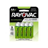 Rayovac Recharge AA Ni-MH Batteries - 1350mAh  - 8 Piece Retail Packaging