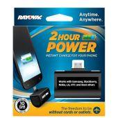Rayovac 2 Hour Emergency Charger - Micro USB