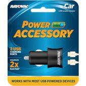 Rayovac Car USB Power Charger
