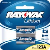 Rayovac Lithium CR123A 3V Batteries