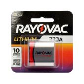 Rayovac Lithium 223 / CRP2 Lithium Battery - 1400mAh  - 1 Piece Retail Packaging