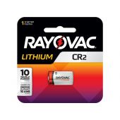 Rayovac Lithium CR2 Lithium Battery - 850mAh  - 1 Piece Retail Packaging