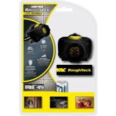 Rayovac Roughneck 3AAA LED Multi-Use Headlight - 80 Lumens - Uses 3 x AAA - Includes Batteries