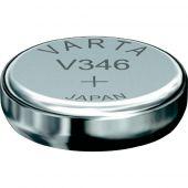 Varta 346 Silver Oxide Coin Cell Battery - 9mAh  - 1 Piece Pill Box