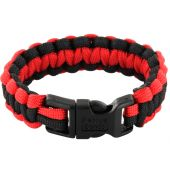 Rescueband Survival Bracelet - Red Outside with Black Inside