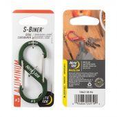 Nite Ize S-Biner Aluminum Dual Carabiner #3 - Olive