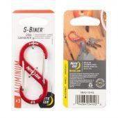 Nite Ize S-Biner Aluminum Dual Carabiner #3 - Red