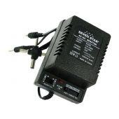 Seven Star SS105 100-240V AC input, 1.5-12V 1000 mAh DC output
