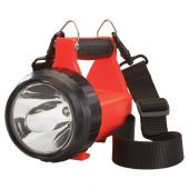 Streamlight 44451 Fire Vulcan LED Vehicle Mount System, 180 Lumens, Dual Rear LEDs, Quick Release Shoulder Strap, DC, Orange