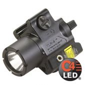 Streamlight TLR-4 Compact Rail-Mounted LED Weapon Light - Angle Shot
