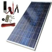 SunForce Solar 80 Watt Polycrystalline Solar Panel with Sharp Module