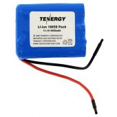 Tenergy 31016 Li-ion 18650 11.1V 4400mAh Battery Pack