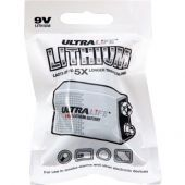Ultralife Long-Life 9V Lithium Battery - Foil Pack