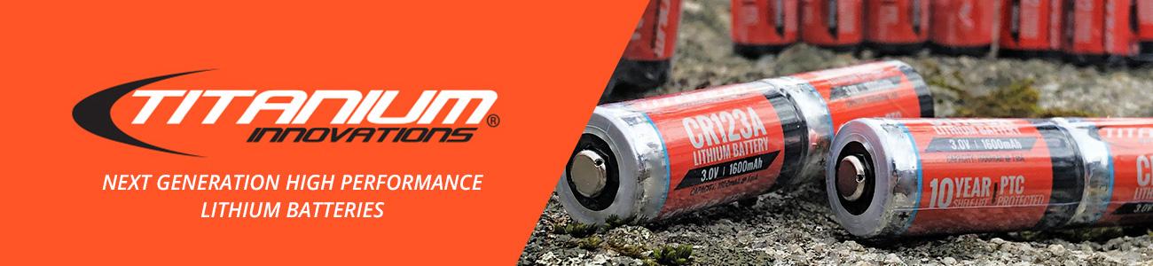 Titanium Innovations CR123A