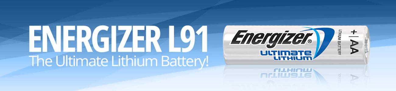 Energizer L91 Banner