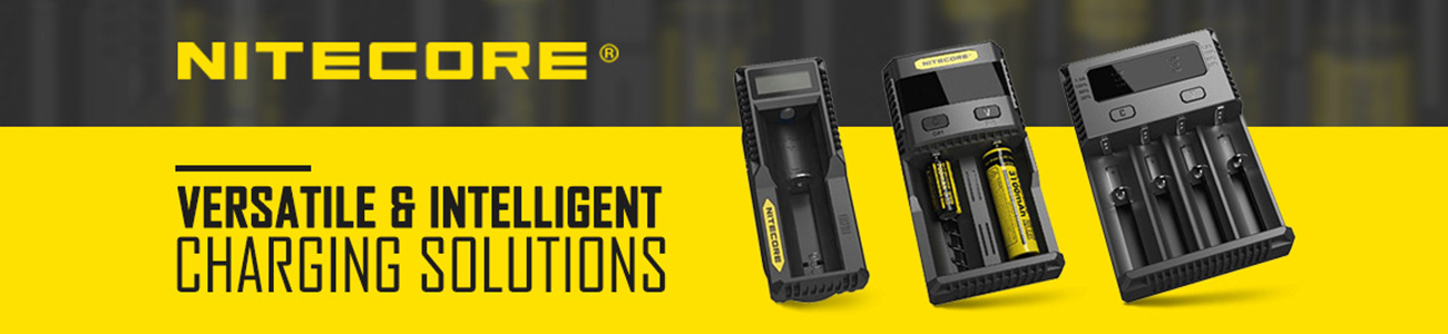 Nitecore charger banner